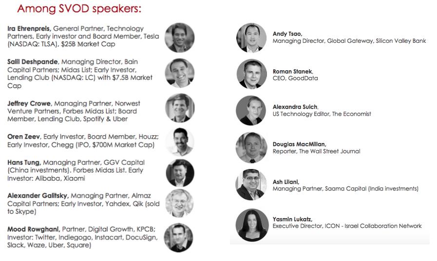 Speakers of #SVOD15